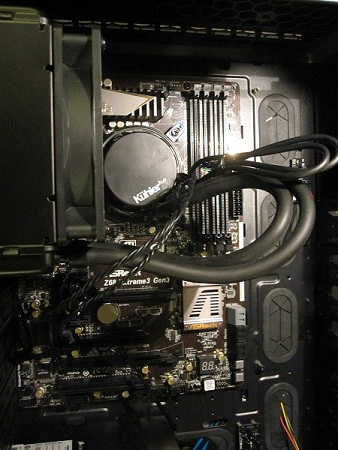 Water Cooling Installed
