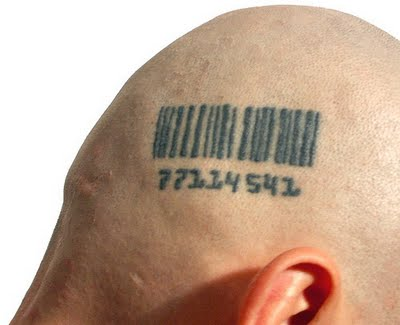 bar code tattoos. I have had the misfortune of