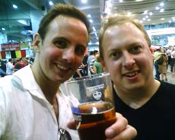 With Nev at the Beerfest