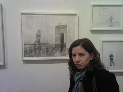 Rebecca on show at the Tate
