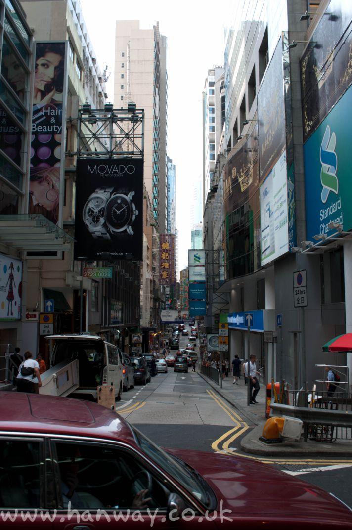 Hong Kong's Sights |Hong Kong Street