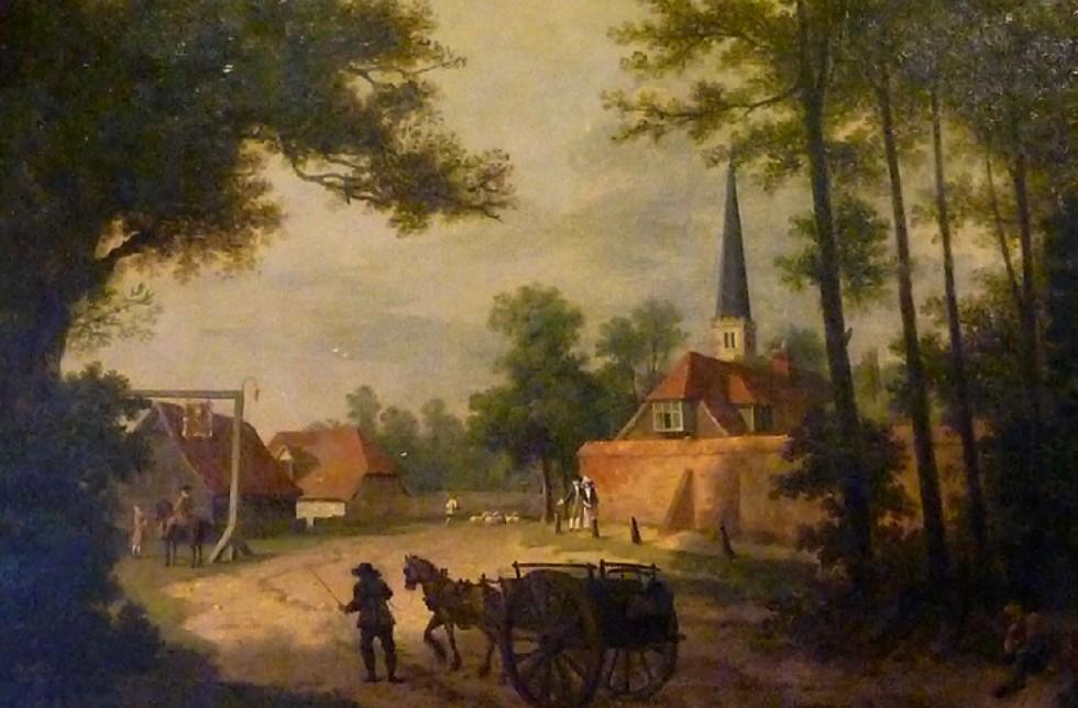 Inigo Richards - Entrance to Harrow (1770)