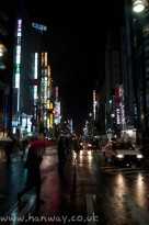 Neon in Shinjuku